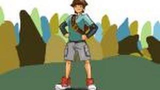 How to draw Bren from Monsuno