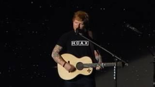 Ed Sheeran Dive Live Sweden