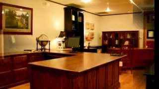 Solid Wood Office Furniture – Designer Desk, File Cabinets & Chairs – Usa Made Furniture