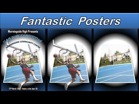 Make Poster - Powerpoint 2010 - Design a Poster like a Pro - Tips