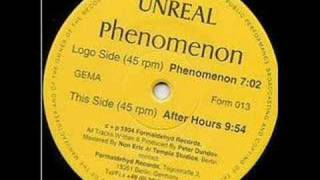 Unreal - After Hours (Trance 1994)