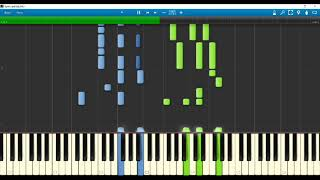 COLORSのピアノロール演奏です! 譜面を見てみたいというお声をいただい...
