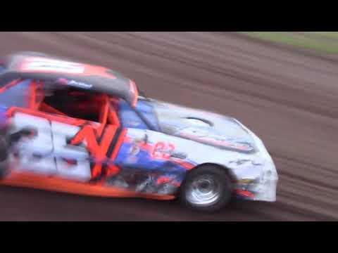 """Salina Speedway """"Coors Light"""" IMCA Stock Cars 7-5-19 (Heat 1&2&A Feature)"""