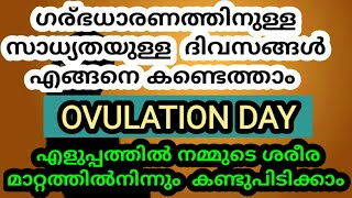 How To Findout Best Pregnancy Day through fluid testing/best day in ovulation/malayalam