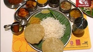 6 Ballygunge Place' Thali Platter: Luchi, Mangsho and much more......