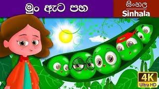 Five Peas in Sinhala - Sinhala Cartoon - Surangana Katha - 4K UHD - Sinhala Fairy Tales