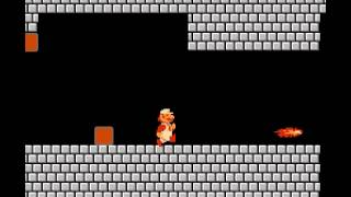 Super Mario Bros - Fire ball - User video
