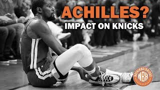 Kevin Durant Suffers Achilles Injury | RJ Barrett Works Out for Knicks | 2nd Rd Draft Prospects