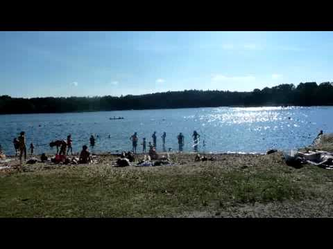 Summer beaches in Stockholm