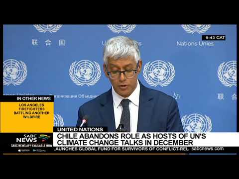 Chile abandons hosting UN Climate Change Talks in December 2019