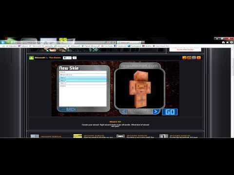 Easy Minecraft Skin Editor