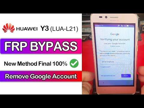 Huawei LUA-L21 FRP Bypass Google Account Remove New Final Method