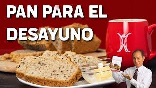Receta De Desayuno Pan De  Almendras Tipo A - Come Y Adelgaza