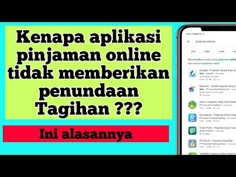 Pinjaman Online Langsung Cair Penundaan Tagihan Aplikasi