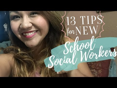 Top TIPS & ADVICE For New School Social Workers || PART 2