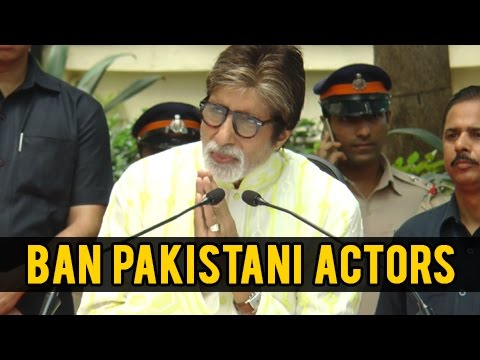Amitabh Bachchan REACTS To Ban Pakistan Actors | Uri Terror Attacks