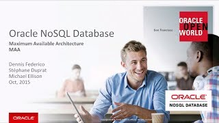 Maximum Available Architecture in Oracle NoSQL Database video thumbnail