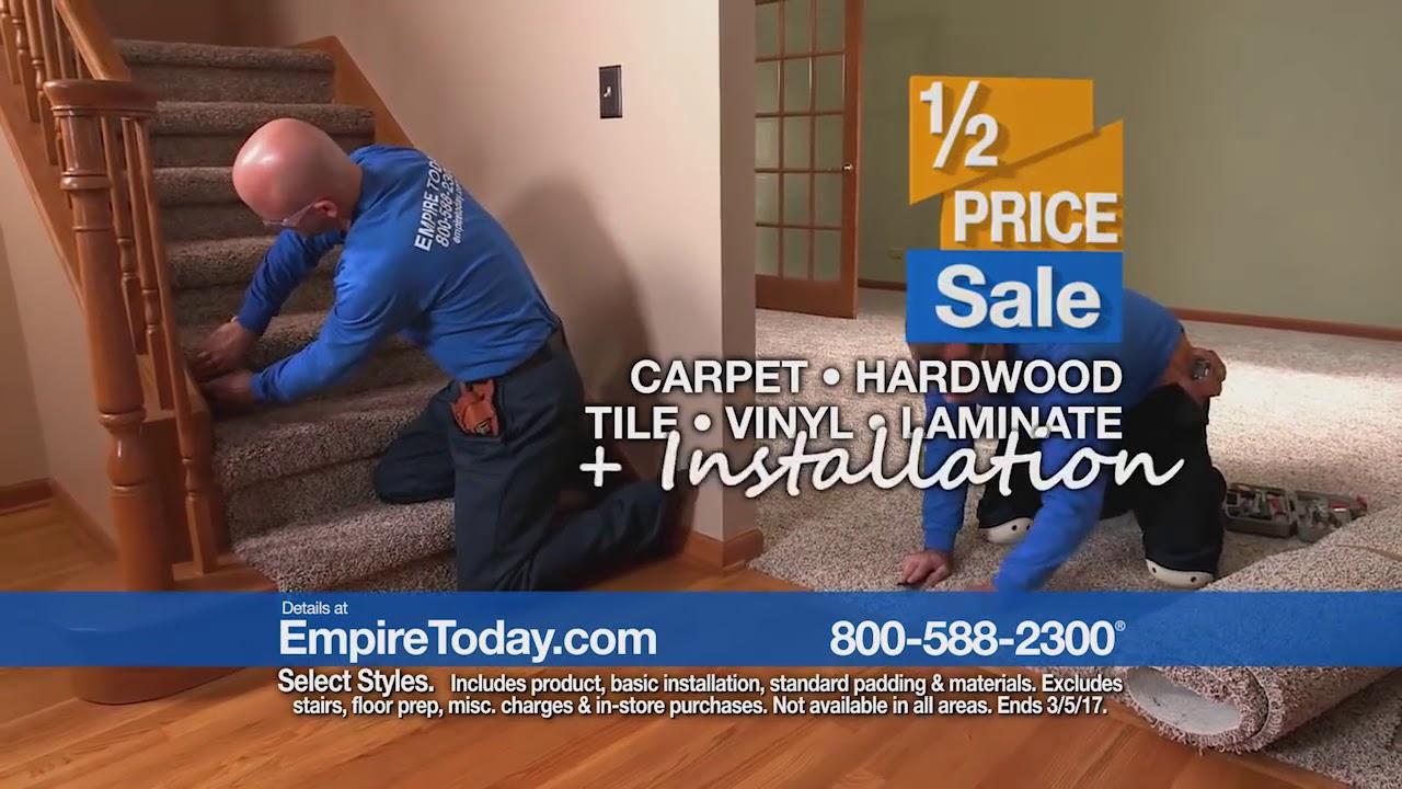 Empire S Flooring 1 2 Price Is