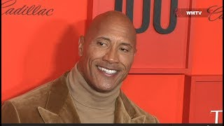 Dwayne 'The Rock' Johnson arrives at 2019 Time 100 Gala