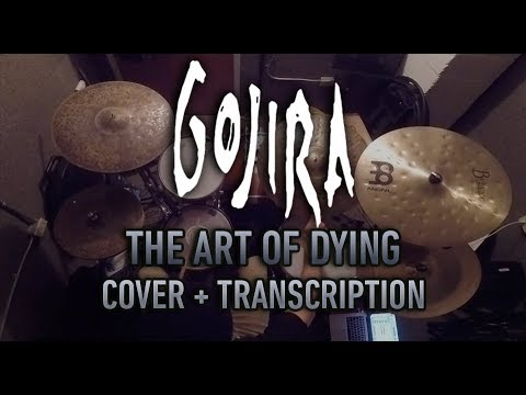 Gojira The Art Of Dying Drum Groove Cover Transcription
