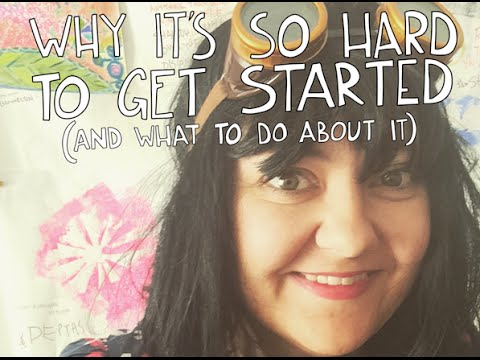 Creative Dream TV: Why it's so hard to get started + what to do about it