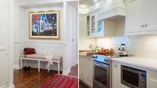 Interior Design — Condo Kitchen & Bathroom With Traditional Design Makeover