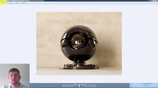 (6) Налаштування камер в 3ds Max. F-stop (діафрагма)