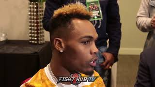 JERMELL CHARLO SAYS ERROL SPENCE HITS HARD, HARDEST HE'S EVER BEEN HIT