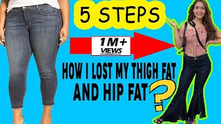 Gambar cover 5 Steps To Lose Hips and Thighs Fat ||  Workout to Lose Thighs Fat in 1 Week
