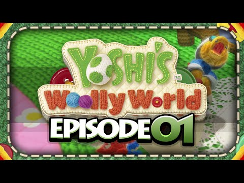 RING THE ALARM! | Yoshi's Woolly World - Part 1 (Let's Play Wii U Gameplay w/ PKSparkxx)