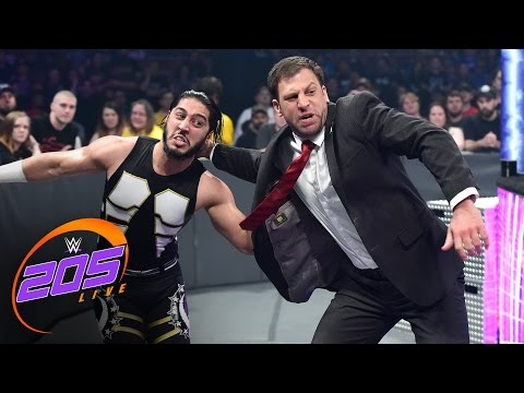 Drew Gulak attacks Mustafa Ali: WWE 205 Live, May 16, 2017