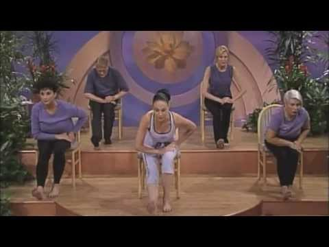 chair yoga sun salutations  youtube
