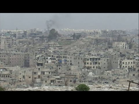 Syria: A rare look inside Aleppo, a city left in ruins