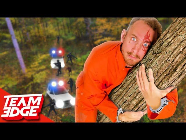 Handcuffed Prisoner Escape Challenge! | Escape the Forest!!