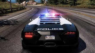 Need For Speed: Hot Pursuit - Lamborghini Reventon (Police) - Test Drive Gameplay (HD) [1080p60FPS]
