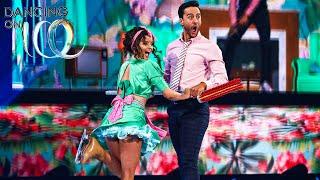 Maura & Alexander brush up the ice! | Dancing on Ice 2020
