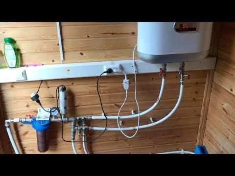 Летний водопровод на даче за копейки