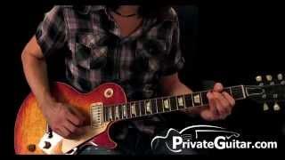 Tom Petty - Refugee Solo Guitar Lesson - PrivateGuitar