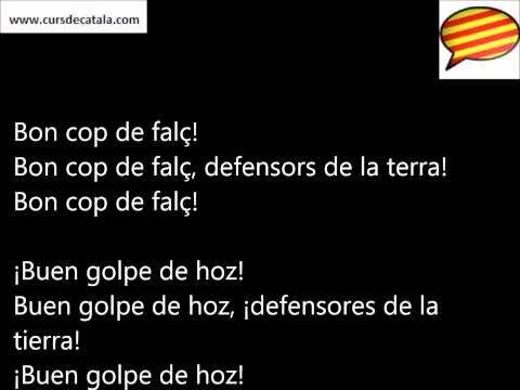Els segadors, himno catalán (Letra - Catalán/Español)