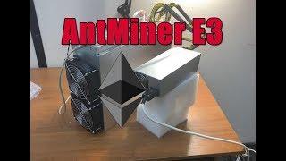 Асик под Эфир Antminer E3 | Честный обзор!  Обзор, доходность и потребление!