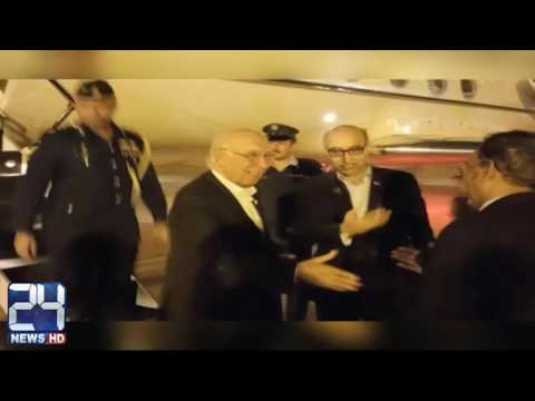 Sartaj Aziz arrives in India to attend Heart of Asia Conference