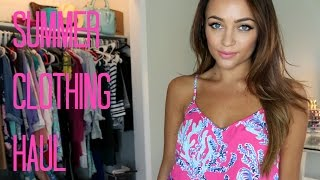 SUMMER CLOTHING HAUL ♡ [w/Try On] | Stephanie Ledda