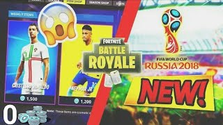 WORLD CUP SKINS ON FORTNITE?
