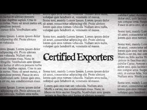 Export Industry in 2012 -- ASEAN, USA, EU, RUSSIA, ARABIC COUNTRIES, AFRICA.wmv
