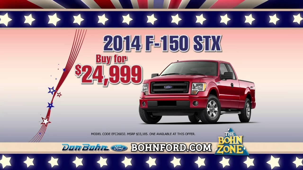 Don Bohn Ford >> Don Bohn Ford