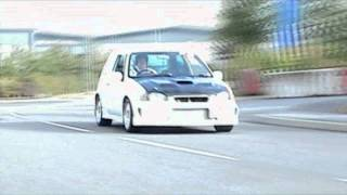 Toyota Starlet Glanza V Turbo GT28 1.0Bar 220bhp Soundcheck!