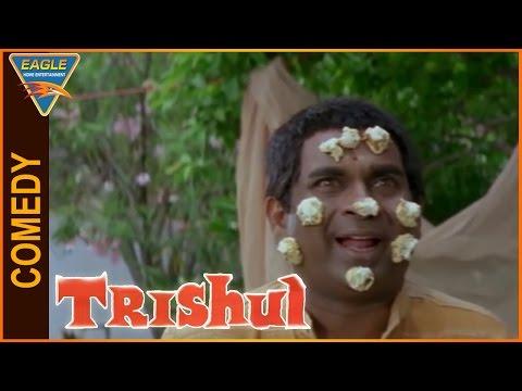 Trishul Hindi Dubbed Movie    Brahmanandam Very Funny Comedy Scene    Eagle Hindi Movies thumbnail