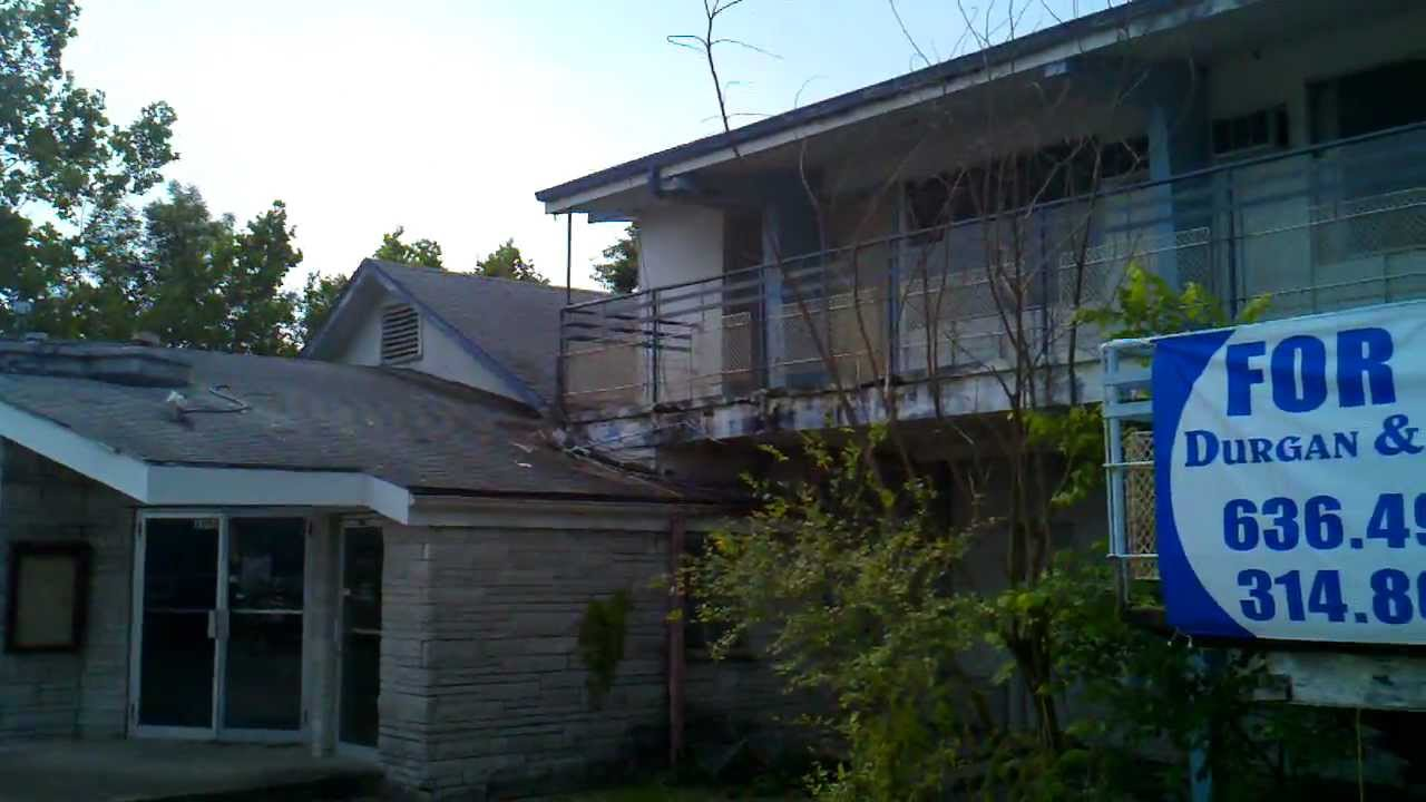 Abandoned Campbells Restaurant And Motel In Lake Ozark Mo Youtube