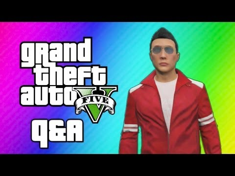 GTA 5 - Q&A (How I Met My Friends, First Video Game, Superheroes, Hockey, Minecraft, Favorite Video)
