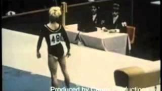 1968 Olympics: Vera Caslavska (TCH) EF Vault